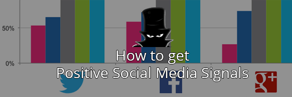 Blackhatlinks top Social Media Signals actionable tips you can use today!
