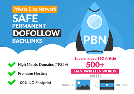 Buy Quality PBN Blog Post Backlinks