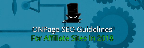 On-Page Optimization For Affiliate Websites