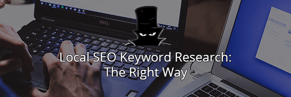 We Recommend Outsourcing Your Keyword Research To Professionals