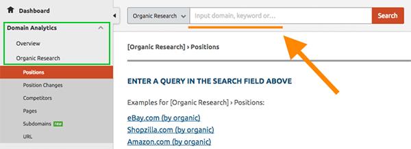 E-commerce SEO Keyword Research: SEMRUSH