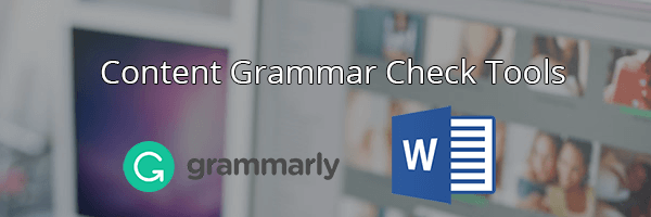 Check for grammatical errors during your SEO Audit!