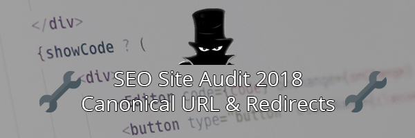 SEO Checker for 2018: Canonical URL and Redirects