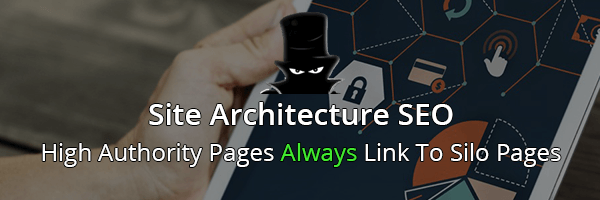 Site Architecture SEO & Silo Pages Links