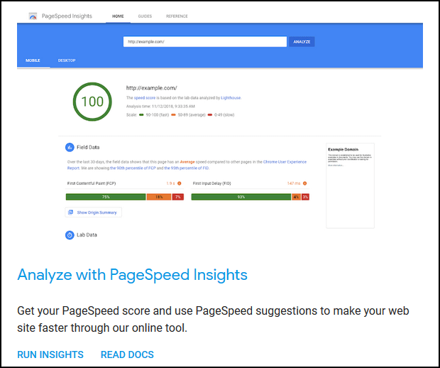 Technical SEO Guide: Google PageSpeed Insights Tool