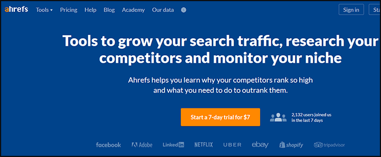 International SEO - Keyword Research Tools: AHREF