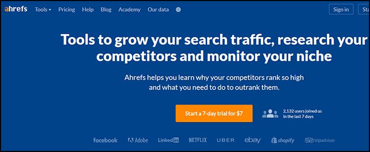 بین المللی جستجوگرها - ابزارهای تحقیق کلمه کلیدی: AHREF