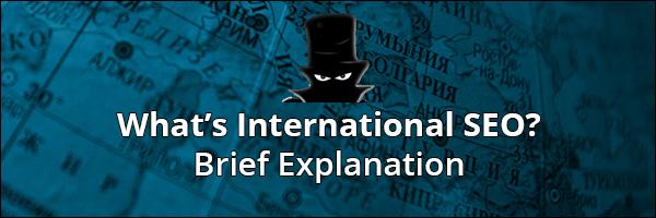SEO بین المللی چیست؟