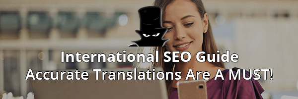 International SEO - Translation