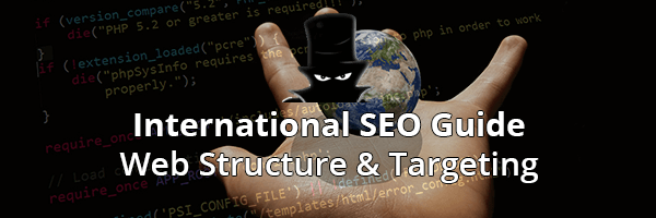 International SEO Web Structure