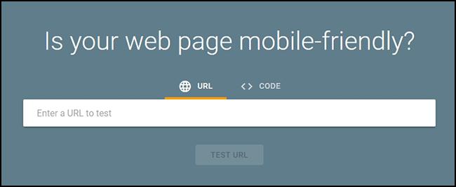 Google Responsive Design Tool