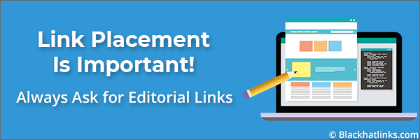 Editorial Backlinks Are More Valuable!