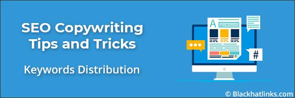 SEO Copywriting Keywords Distribution