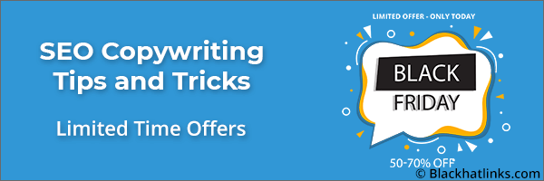 SEO Copywriting Limited Time Headlines