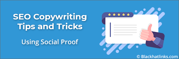 SEO Copywriting Testimonials and Social Proof
