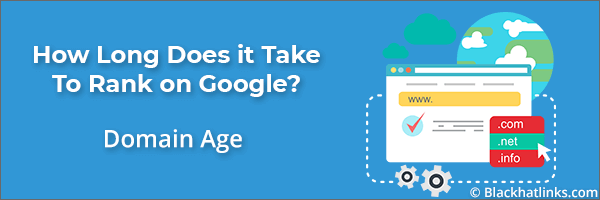 How Long to Rank in Google: Domain Age