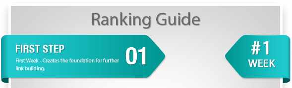 Buy Backlinks with the Ranking Guide Step 1